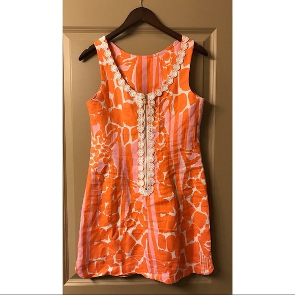 Lilly Pulitzer for Target Dresses & Skirts - Lilly Pulitzer Orange & Pink Short Sun Dress